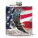 God Bless America Flask