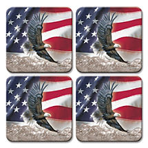 Celebrate Freedom While Protecting Furniture with Patriotic Coasters