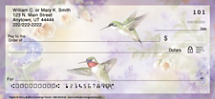 Lena Liu's Flights of Fancy Hummingbird Personal Checks