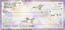 Lena Liu's Flights of Fancy Hummingbird Personal Checks