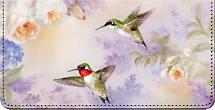 Flights of Fancy Lena Liu Art Checkbook Cover