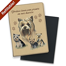 Get Write to the Point with Help from Your Yorkshire Terrier Friends Notebook