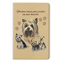 Dog Days Will Feel Like Holidays with a Yorkshire Terrier Notebook by Your Side!