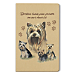 Yorkie Soft-Touch Paperbound Journal