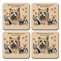 Our Pint-Sized Pup Coasters Provide a Paw-Fect Spot to Set Beverages