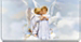 Angel Kisses Checkbook Cover