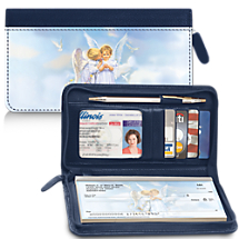 Our Angel Kisses Leather Wallet is Simply Heavenly