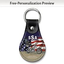 Patriotism Meets Power on this Revved-Up Key Ring