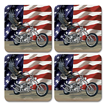 Protect Furniture and Show Your Love for All Things American with Our Patriotic Coasters
