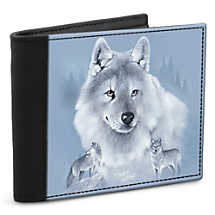 Become a Member of the High-Tech Wolf Pack with this Wilderness-Inspired Leather-Accented Wallet