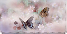 Enchanted Wings Lena Liu Art Checkbook Cover