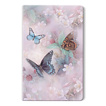 Graceful Butterflies Have a Calming Effect on this Notebook with Famed Artwork