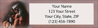 The Awakening Return Address Label