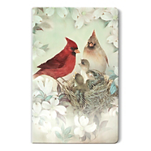 Fond Memories Deserve a Place of Honor in a Famed Cardinal Bird Artwork Notebook