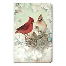 Fond Memories Deserve a Place of Honor in a Famed Cardinal Bird Artwork Notebook