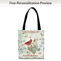 Our Adorable Cardinal Carryall Combines Nature with Art to Bring a Bit of Spring to Your Routine