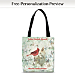 Lena Liu's Morning Serenade Fabric Tote Bag