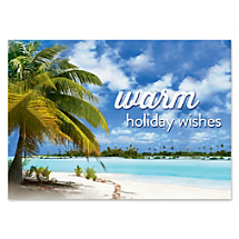 Let Sunny Warm Wishes Put a Tropical Twist on Your Season's Greetings