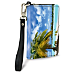 Tropical Paradise Small Wristlet Purse
