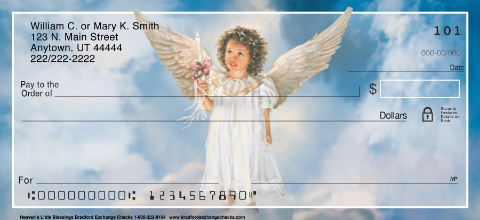 Heaven's Little Blessings Personal Checks