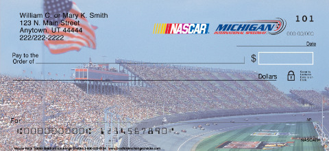NASCAR(R) Racetracks Personal Checks