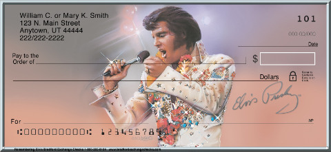 Remembering Elvis(R) Personal Checks