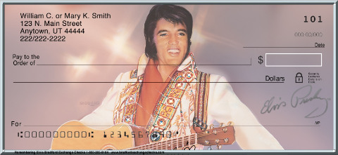 Remembering Elvis(R) Personal Checks