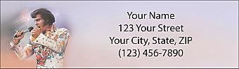 Remembering Elvis® Return Address Label