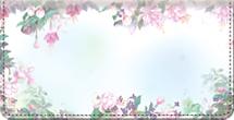 Lena Liu's Floral Borders Checkbook Cover