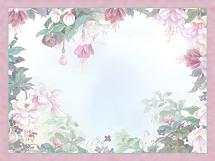Lena Liu Floral Borders Notecards