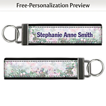 Start a Fashionably Floral Sensation When You Carry This Stylish Keychain
