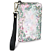 Lena Liu's Floral Borders Small Wristlet Purse