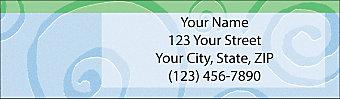 Free Spirits Return Address Label