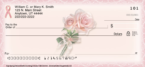Hope Springs Eternal Personal Checks