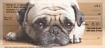 Faithful Friends - Pug Personal Checks