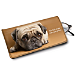 Faithful Friends - Pug Eyeglass Case