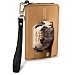Faithful Friends - Pug Small Wristlet Purse
