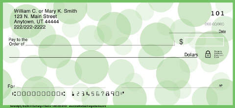 Serendipity Personal Checks