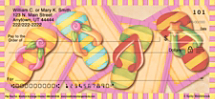 Flip Flop Fun Personal Checks