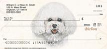 Bichon Frise Personal Checks