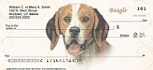 Beagle Dog Personal Checks