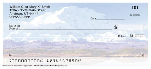 Majestic America Unique Personal Checks