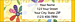 Flower Power Return Address Label