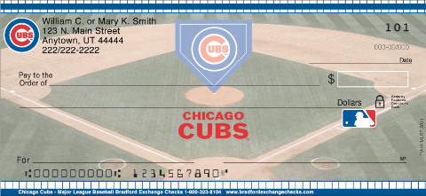 (R)Chicago Cubs(R) Personal Checks