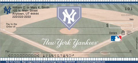 (R)New York Yankees(R) Personal Checks