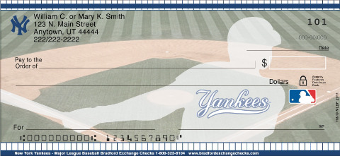 (R)New York Yankees(R) Personal Checks
