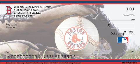 (R)Boston Red Sox(R) Major League Baseball(R) Personal Checks