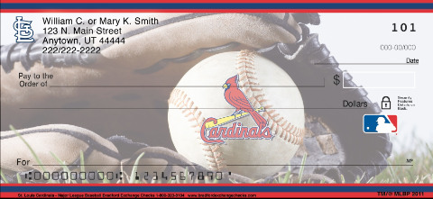 (R)St. Louis Cardinals(R) Major League Baseball(R) Personal Checks