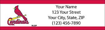 St Louis Cardinals™ MLB® Return Address Label