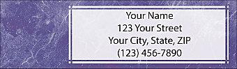 5th Avenue Return Address Label
